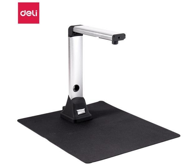 得力(deli)1000万像素高拍仪 A4幅面扫描器 身份证照片高速扫描仪 图文转换