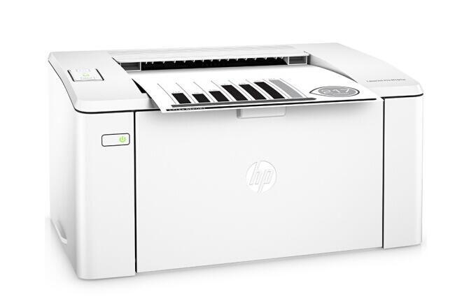 惠普(HP)M104w黑白激光打印机 无线A4打印 P1108/1106+wifi 家用 小型办公