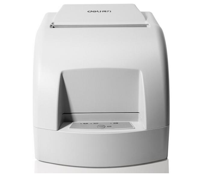 得力(deli)DL-220B 小票针式打印机 自动切纸微型针式打印机