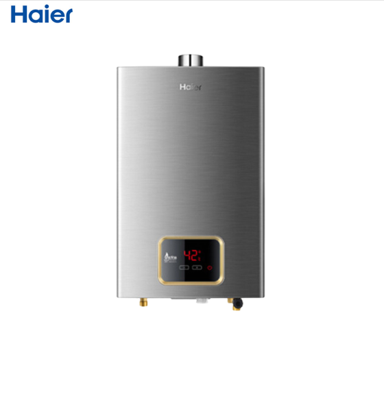 海尔(Haier)10升1智能恒温燃气热水器JSQ20-U5(12T )数码显示家用热水器保修6年 10L天然气